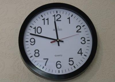 Large Print Wall Clock